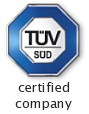 TUV certified company
